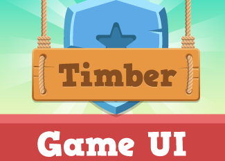 Timber Game UI