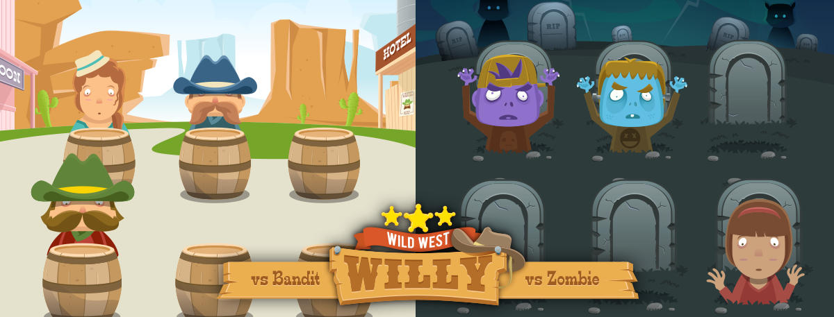 Wild West Willy screen